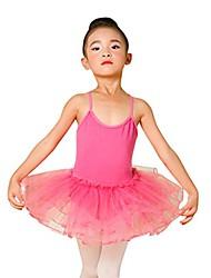 cheap -girl dancewear,fashion toddler baby girls ballet dress tutu leotard dance gymnastics strap clothes outfits 2-6t (2-3 years old, hot pink)