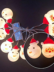 cheap -1.5m 3m String Lights 10 20 LEDs Warm White Party Christmas Wedding Decoration AA Batteries Powered