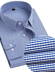 """cheap -men's slim fit solid dress shirt and core micro tie combo, blue/navy, 17"""" neck 34""""-35"""" sleeve"""