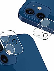 cheap -[2 pack] compatible with iphone 12 mini camera lens protector [tempered glass] camera protector [case friendly] back lens rear camera protective film compatible with iphone 12 mini (5.4'') (clear)