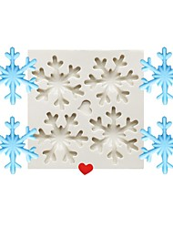 cheap -1pc Cake Molds Christmas Round Silicone Cake Molds For Cookie