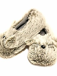 cheap -nicole miller toddler cat slipper with premium soft plush shoes grey size us 9-10 age 4-5 years