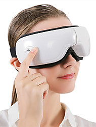 cheap -The New Smart Electric Hot Compress Eye MassagerUSB Rechargeable Eye Massager Foldable Eye Protection Device Bluetooth Eye Mask Eye Relaxation Vision Care Relieving Eye Fatigue