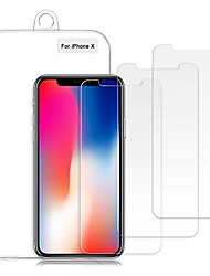 cheap -iphone xs/x screen protector, 0.26mm 9h tempered shatterproof glass screen protector anti-shatter film [3d touch compatible & 3-pack]