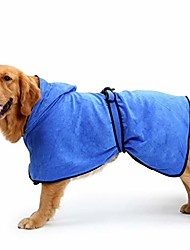 cheap -strong absorbent dog towel bath robe softcomfortable and breathable, quick-drying and non-fading, suitable for pets (color : blue, size : s)