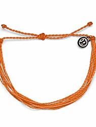cheap -original orange bracelet - 100% waterproof, adjustable band - plated brand charm