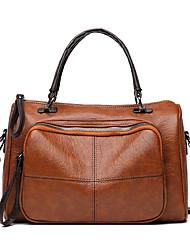 cheap -Women's Bags Top Handle Bag Date Office & Career Handbags Black Brown