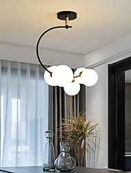 cheap -40cm LED Pendant Light Modern Nordic Globe Design Cluster Design Flush Mount Lights Metal Shiny Metallic Globe Painted Finishes 110-120V 220-240V