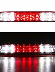 cheap -led 3rd brake light for 99-16 ford f250 f350 f-450 f-550 super duty, 93-11 ford ranger, 01-05 ford explorer sport trac high mount stop light cargo lamp (chrome housing red lens)