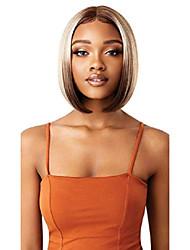 cheap -lacefront colorbomb medium straight bob blunt cut exclusive salon-designed blonde shades premium heat resisitant, hd transparent swiss lace natural baby hair - bona (3drffwtbl)