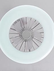 cheap -30 cm LED Ceiling Fan Light Bulb Design Metal Painted Finishes LED Modern 110-120V 220-240V