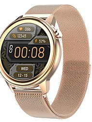 cheap -696 F81 Unisex Smartwatch Smart Wristbands Bluetooth Touch Screen Heart Rate Monitor Blood Pressure Measurement Information Blood Oxygen Monitor Call Reminder Temperature Display