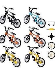 cheap -11 pcs Finger skateboards Finger bikes Finger Toys Plastics Alloy Office Desk Toys with Replacement Wheels and Tools Party Favors Kid's Adults All Party Favors  for Kid's Gifts
