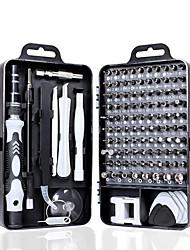 cheap -KINDLOV 112 in 1 Screwdriver Set of Screw Driver Bit Set Multi-function Precision Mobile Phone Repair Device Hand Tools Torx Hex