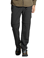 cheap -men's hiking quick drying outdoor mountain sports fitness convertible cargo pants 6xl black