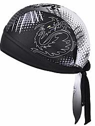 cheap -vbiger bandana durag cycling cap under helmet skull cap adjustable cycling hat quick dry sports headwear for men and women