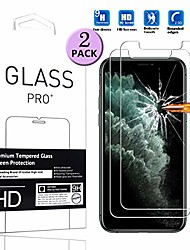 "cheap -[2 pack] compatible with iphone 11 pro screen protector  high definition anti-scratch waterproof cell phone protective film tempered glass for iphone 11 pro 2019 5.8"" -2pcs"