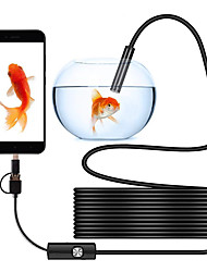 cheap -Computer Endoscope Waterproof Borescope Tube USB Inspection Mini Video Camera Android 8MM USB Micro Type-C USB 3-in-1