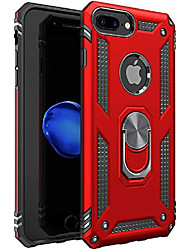 cheap -iphone 6 plus case | iphone 6s plus case [ military grade ] 15ft. drop tested protective case | kickstand | compatible with apple iphone 6plus / iphone 6s plus case 5. 5-inch - red