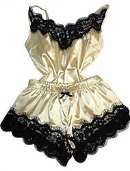 cheap -ackful fashion sexy lace sleepwear lingerie temptation babydoll underwear nightdress yellow