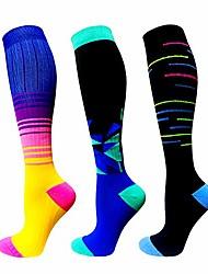 cheap -compression socks women & men 20-30 mmhg (3/6 pairs), best athletic & medical running flight travel pregnant