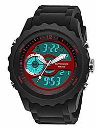 cheap -sanda men's classic fashion electronic watch led belt sports double display