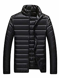 cheap -winter warm quilted cotton down puffer jacket mens padded coats parka