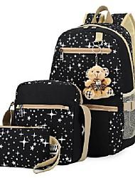 cheap -girls school bag 3pcs for elementary, backpack/shoulder bag/handbag