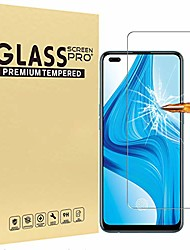 cheap -[2 pc]  screen protector for oppo f17 pro tempered glass film high definition anti-scratch phone protective film for oppo f17 pro screen protector