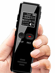 cheap -V90 Micro Digital Voice Activated Recorder Dictaphone Long Distance 8GB Audio Recording MP3 Player Noise Reduction WAV Record