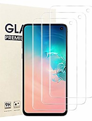 cheap -3-Pack Screen Protector For Samsung Galaxy S21 5G ,Tempered Glass,Case Friendly,Bubbles Free,HD Clear,Full Coverage Screen Protector For Galaxy S20 Plus S10 Lite S10e S20Ultra