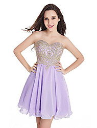 cheap -golden applique ball gowns for women formal,lavender,16