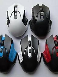 cheap -6 Wireless 2.4G Laser Gaming Mouse / Office Mouse Led Light 1000 dpi 3 Adjustable DPI Levels 4 pcs Keys 4 Programmable Keys