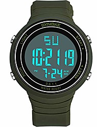 cheap -lucamore men's digital sports wrist watch, led 50m waterproof wrist watch, military multi-function watches for men