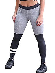 cheap -women's fold over active running leggings yoga pants as picture l