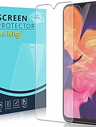 cheap -zeking[2-pack]samsung galaxy a10 tempered glass screen protector, [not fit for galaxy a10e] [3d touch][case friendly] bubble free