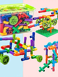cheap -Building Blocks Educational Toy Construction Set Toys 96 pcs compatible Plastic Legoing Boys' Girls' Toy Gift / Kid's