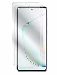 cheap -samsung galaxy s10 lite screen protector, boxwave [cleartouch anti-glare (2-pack)] anti-fingerprint matte film skin for samsung galaxy s10 lite