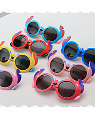 cheap -1pcs Kids Unisex Active / Sweet Cartoon Glasses Blue / Red / Yellow