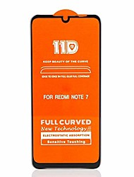 cheap -screen protector protective scratchproof 11d hd full glue full curved screen tempered glass film for xiaomi redmi note 7 pro (black) glass film (color : black)