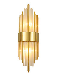 cheap -Crystal Modern Nordic Style Wall Lamps Wall Sconces Bedroom Shops / Cafes Crystal Wall Light 110-120V 220-240V