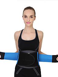 cheap -Sports Waist Belt Color Waist Protection Neoprene Waist Support Fitness Belt Sweating