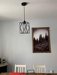 cheap -17cm LED Pendant Light Mini Vintage Single Design Bedside Light Dining Room Bar Bedroom Porch Light Metal Painted Finishes Island 110-120V 220-240V