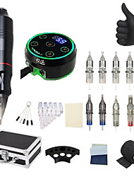 cheap -BaseKey Professional Tattoo Kit Tattoo Machine - 1 pcs Tattoo Machines, Professional / Low Noise / Best Quality Aluminum Alloy 18 W Tattoo Pen / Case Included