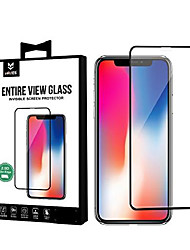 cheap -entire view tempered glass for iphone x, mryes full ab glue screen protector 0.26mm for apple iphone x protective film 2018 with high transparency accurate touch (panoramic-transparent)