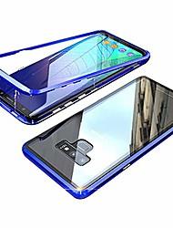 "cheap -xiaomi mi a3 case, mi cc9e case,  magnetic absorption case clear tempered glass full screen coverage metal bumper frame full-body protective cover for xiaomi mi cc9e/mi a3 (6.01"") [blue]"