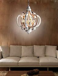 cheap -6-Light 50 cm Globe Design Chandelier Resin Resin Modern 110-120V / 220-240V