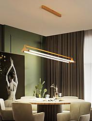 cheap -63/83 cm LED Pendant Light Nordic Gold Island Light Single Design Living Room Dining Room Metal Painted Finishes 110-120V 220-240V