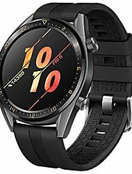 Недорогие -ремешок, совместимый с часами huawei gt active 46 мм, купить со скидкой мягкий силиконовый сменный ремешок в спортивном стиле водонепроницаемый браслет, совместимый с часами samsung galaxy watch 46 мм
