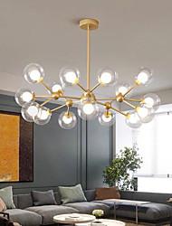 cheap -90cm LED Pendant Light Nordic Black Gold Globle Design Metal Painted Finishes Modern Christmas Decoration 110-120V 220-240V